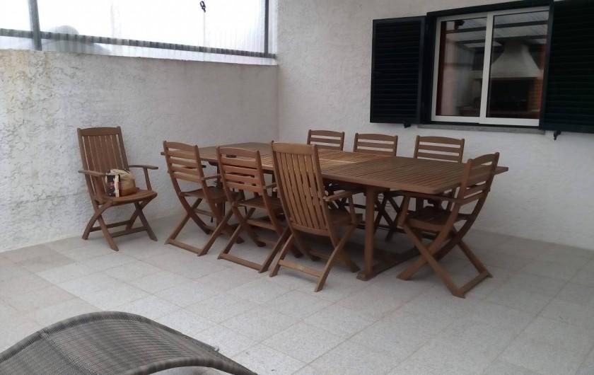 Location de vacances - Villa à Viseu - Terrasse