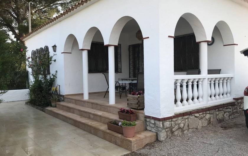 Location de vacances - Villa à Miami Platja - Entrée privée