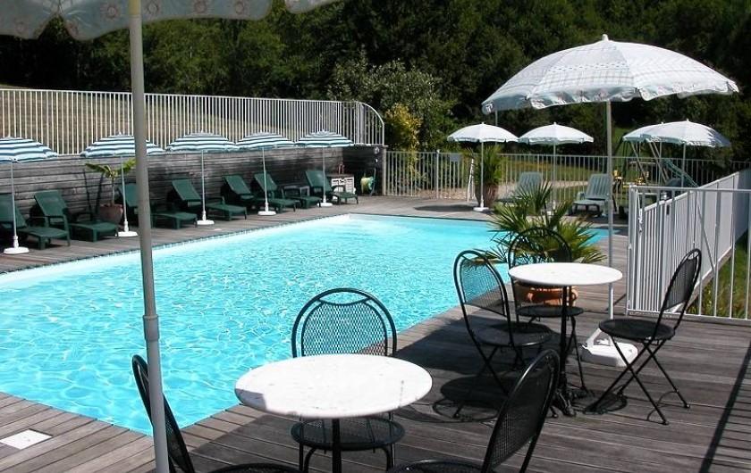 Location de vacances - Gîte à Martel - la Piscine