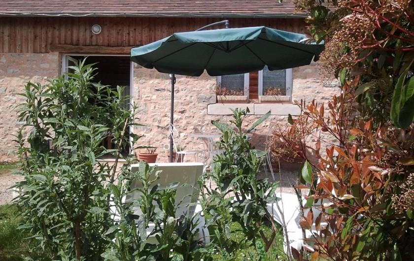 Location de vacances - Gîte à Martel - terrasse