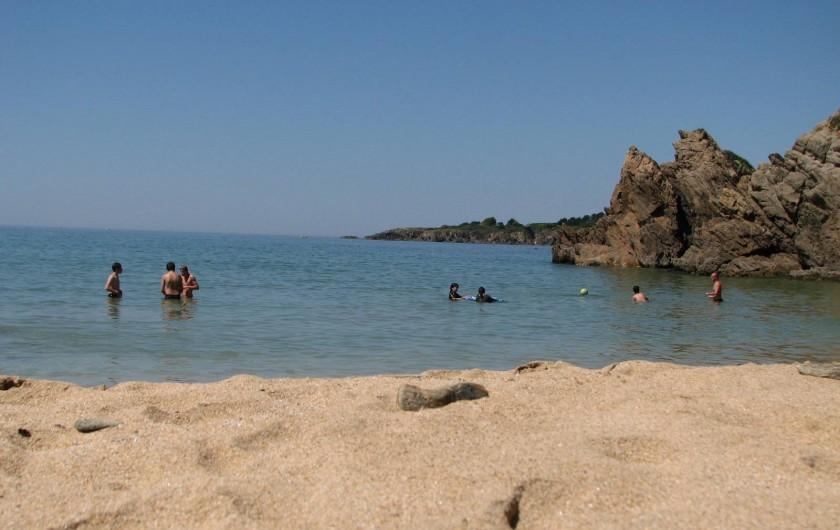 Location de vacances - Appartement à Clohars-Carnoët - la plage du Kérou à 2km