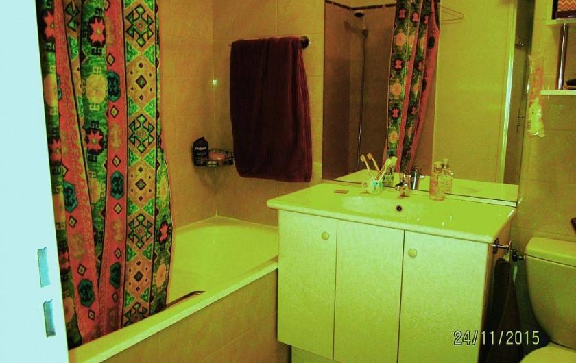 Location de vacances - Studio à 15e Arrondissement - salle de bain