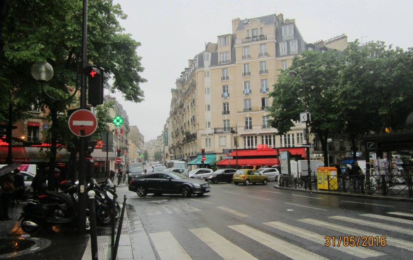 Location de vacances - Studio à 15e Arrondissement - Rue de Vaugirard