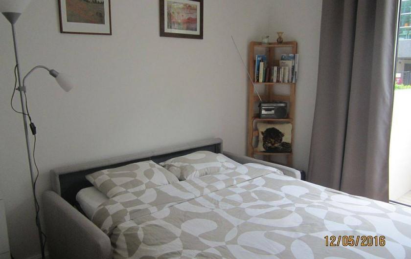 Location de vacances - Studio à 15e Arrondissement - divan-lit déplié