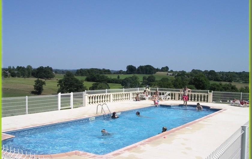 Location de vacances - Bungalow - Mobilhome à Vigeois - Piscine 17mx5m