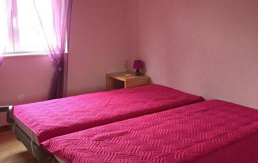 Location de vacances - Gîte à Kertzfeld - chambre 3