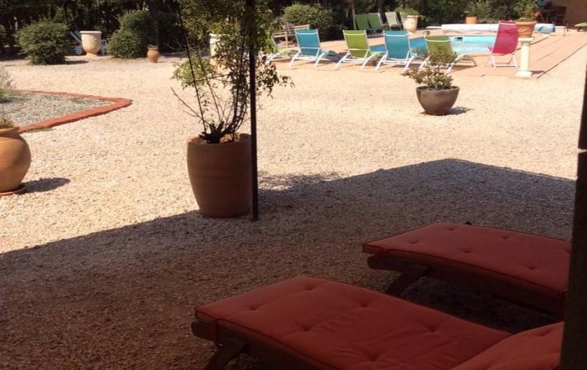 Location de vacances - Mas à Régusse