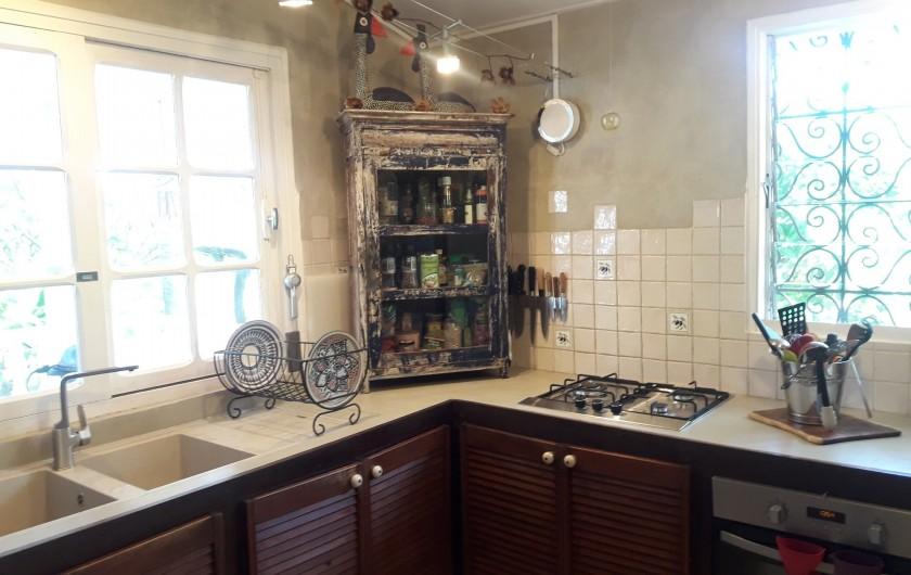 Location de vacances - Villa à La Saline-Les-Bains - Cuisine