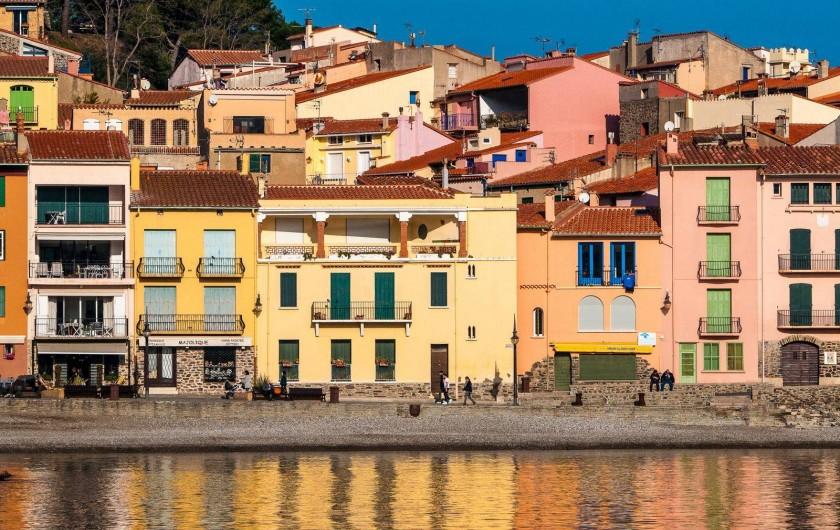 Location de vacances - Maison - Villa à Collioure - Bord de mer