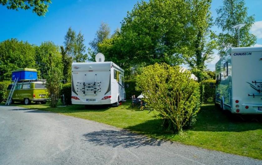 Location de vacances - Bungalow - Mobilhome à Saint-Benoît-des-Ondes - les emplacements