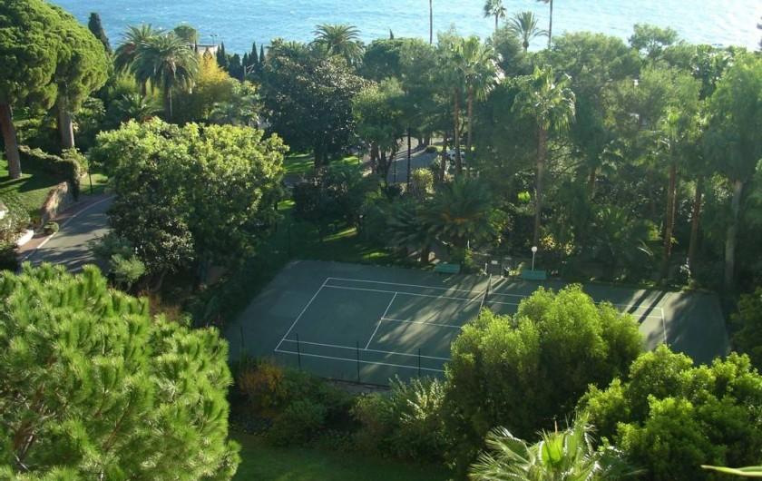 Location de vacances - Appartement à Vallauris - Tennis