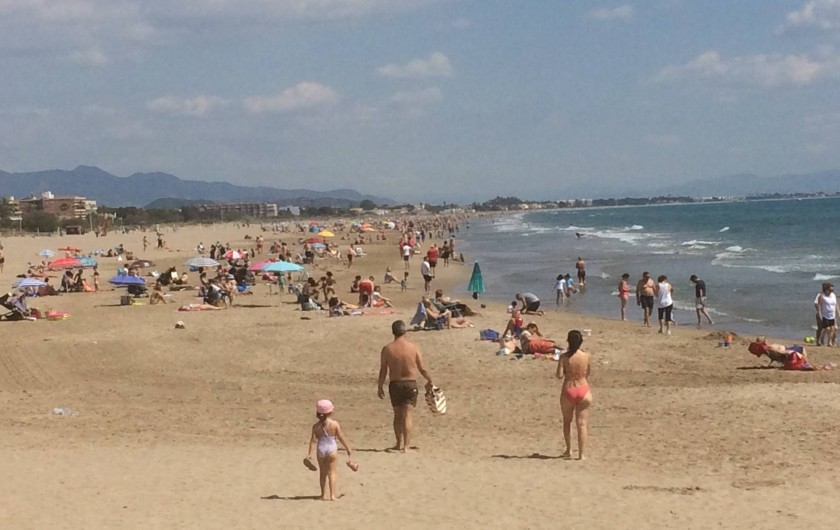 Location de vacances - Appartement à Canet d'en Berenguer - CANET D'EN BERENGUER: Grande plage de sable fin