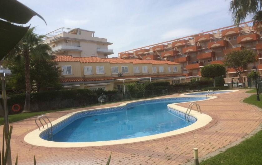 Location de vacances - Appartement à Canet d'en Berenguer - Les piscines de la résidence