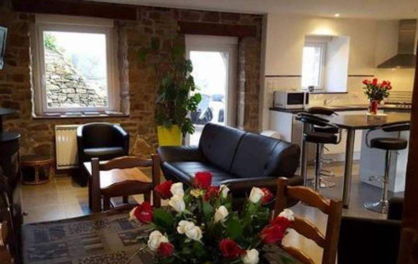Location de vacances - Gîte à Saint-Pol-de-Léon - Coin salon