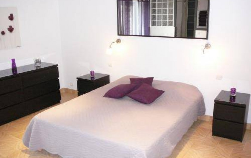 Location de vacances - Gîte à Saint-Pol-de-Léon - Chambre  1  (lit 160 ) avec douche a l'italienne