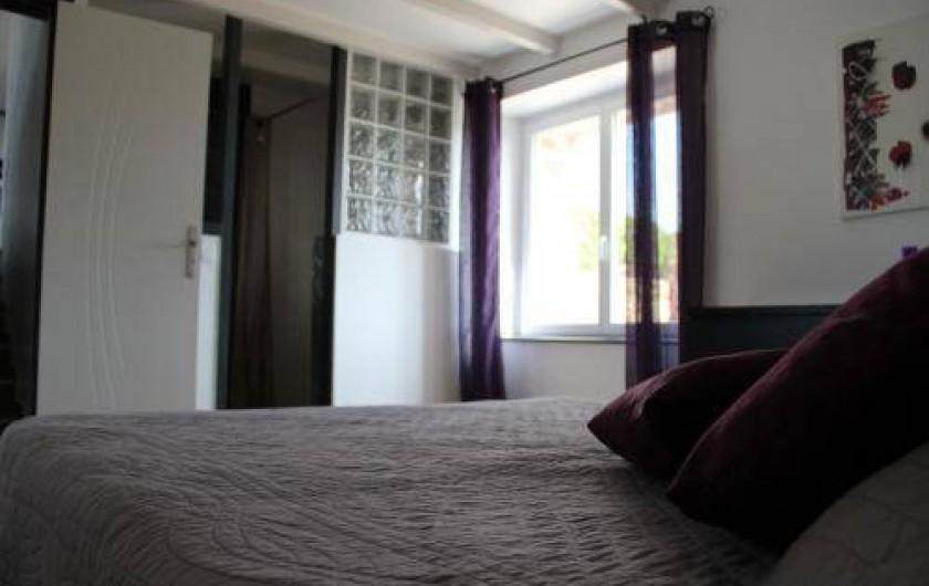 Location de vacances - Gîte à Saint-Pol-de-Léon - Douche à l'italienne chambre 1