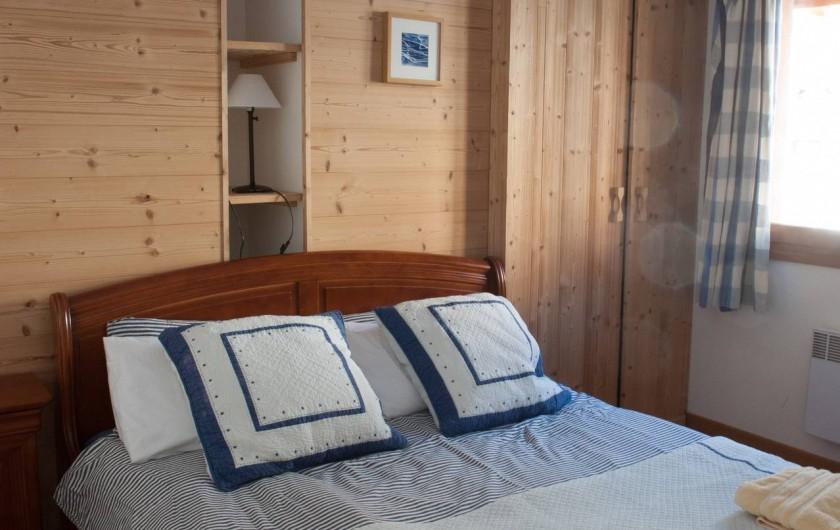 Location de vacances - Appartement à Vaujany - Chambre 1 -lit 160cm