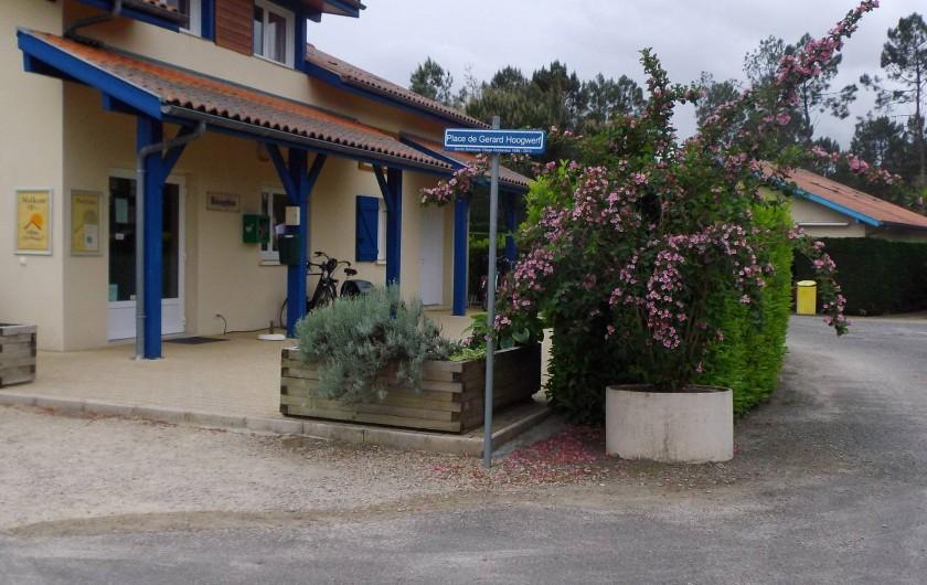 Location de vacances - Villa à Saint-Julien-en-Born - accueil