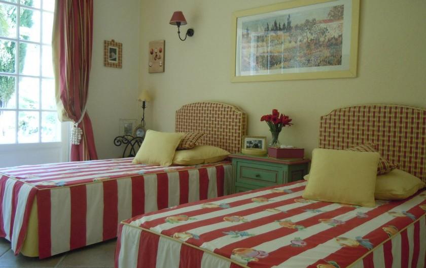 Location de vacances - Villa à Théoule-sur-Mer - chambre 2