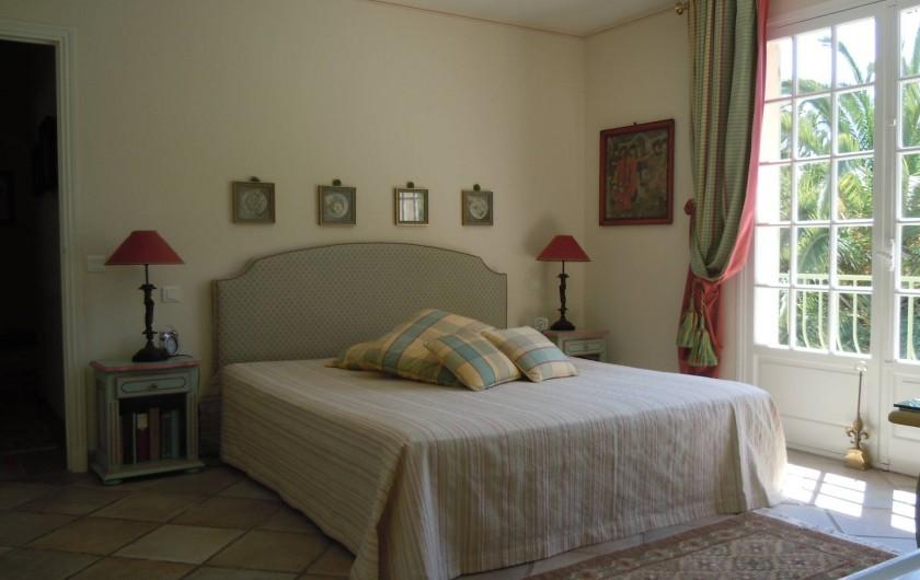 Location de vacances - Villa à Théoule-sur-Mer - chambre de maître