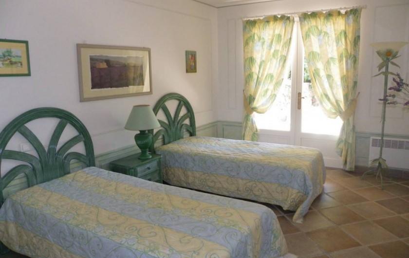 Location de vacances - Villa à Théoule-sur-Mer - chambre 3