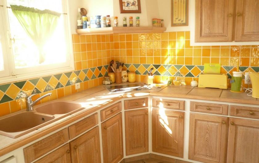 Location de vacances - Villa à Théoule-sur-Mer - cuisine