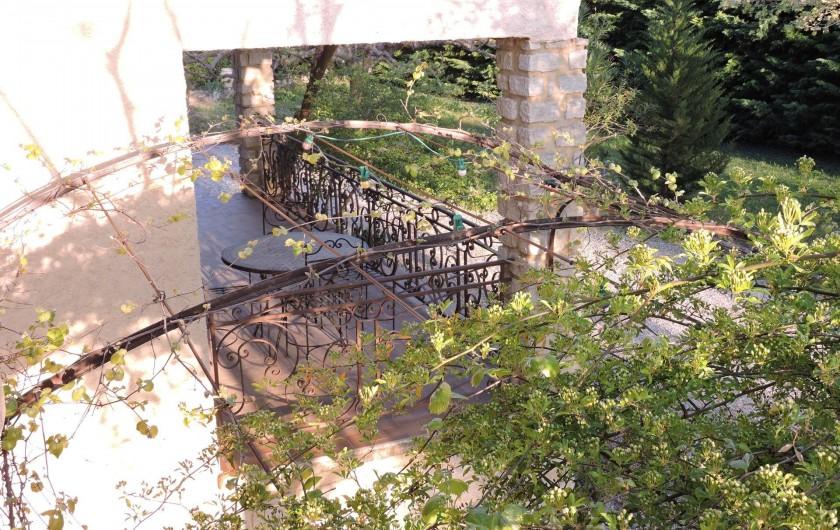 Location de vacances - Chalet à Monteux - TERRASSE