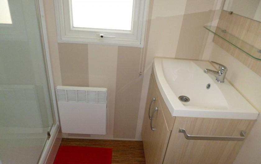Location de vacances - Bungalow - Mobilhome à Saint-Brevin-les-Pins - 2 ème salle d'eau