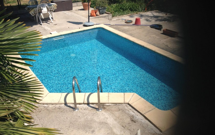 Location de vacances - Villa à Cantaron - La piscine
