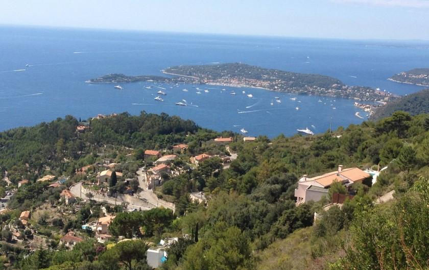 Location de vacances - Villa à Cantaron - Saint Jean Cap Ferrat et Beaulieu