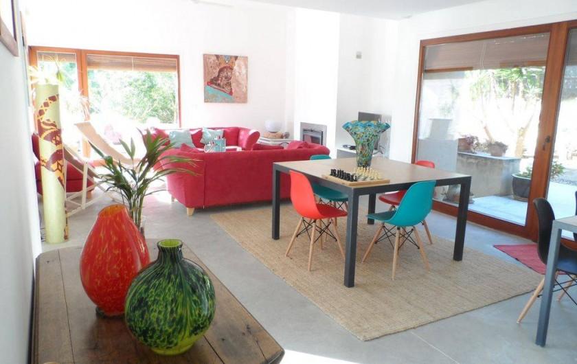 Location de vacances - Villa à Busot - Salon et salle à manger