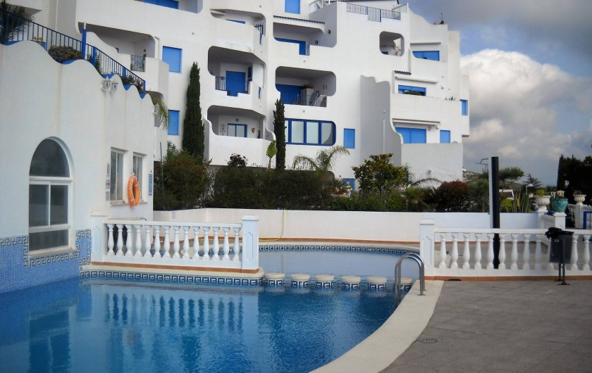 Location de vacances - Appartement à Peníscola - Perla Blanca PISCINE