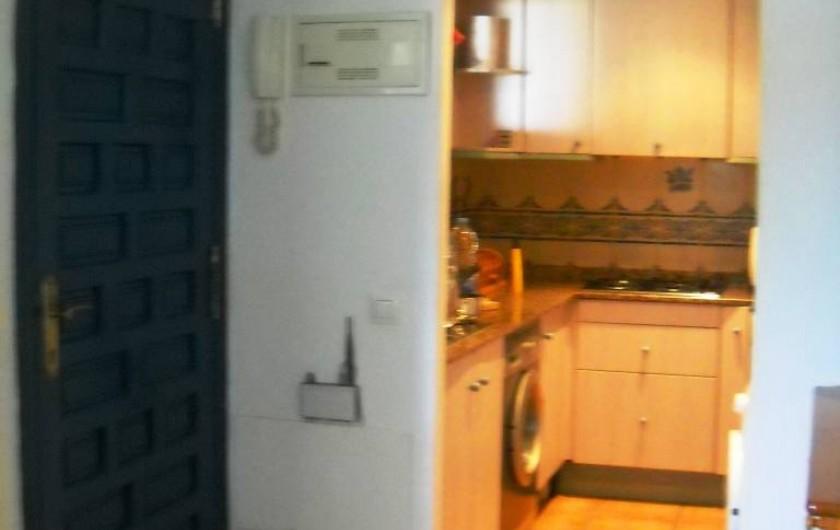 Location de vacances - Appartement à Peníscola - Cuisine