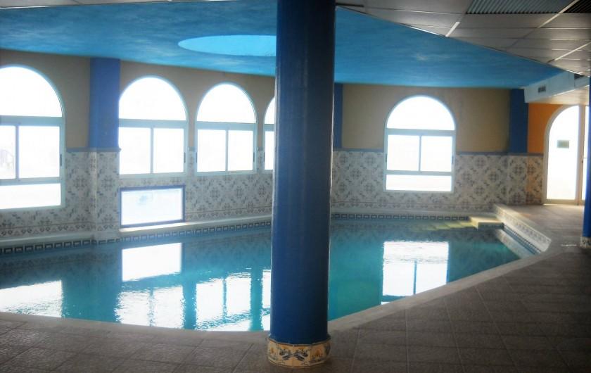 Location de vacances - Appartement à Peníscola - Piscine intérieure chauffée