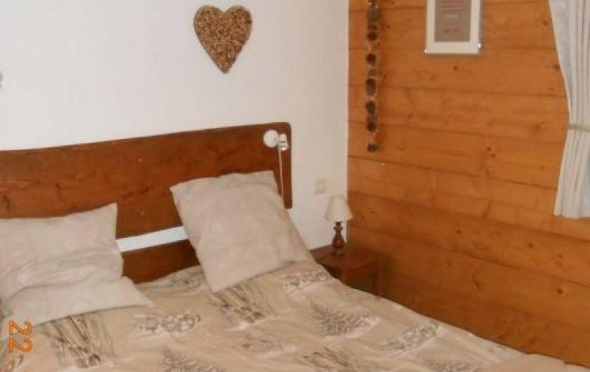 Location de vacances - Appartement à Villard-sur-Doron - La chambre nuptiale