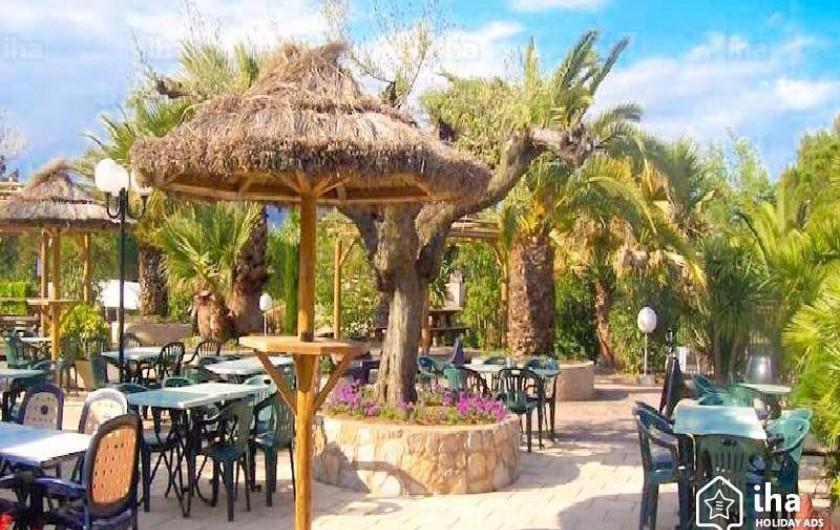 Location de vacances - Bungalow - Mobilhome à Roquebrune-sur-Argens - restaurant