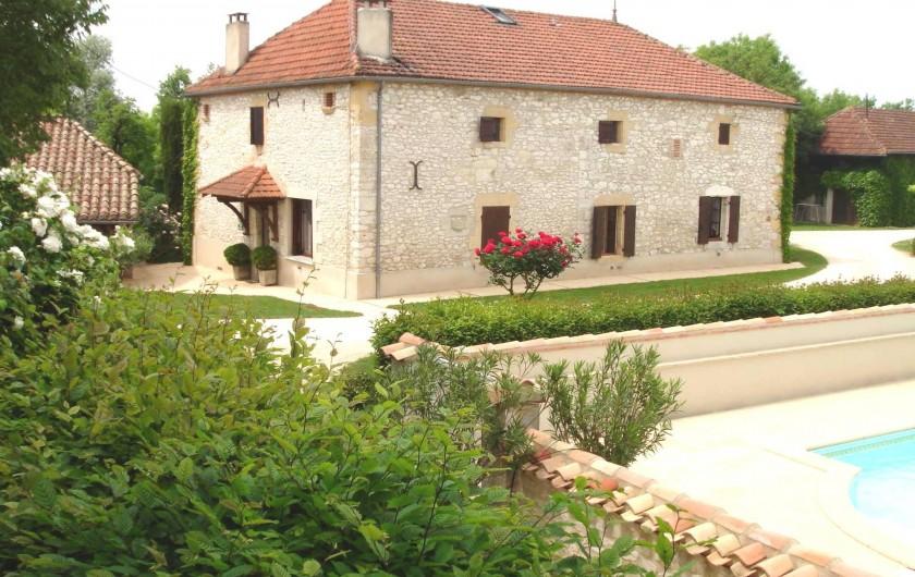 Location de vacances - Gîte à Saint-Aubin - Gîte les Tilleuls, 5 chambres pour 10 pers
