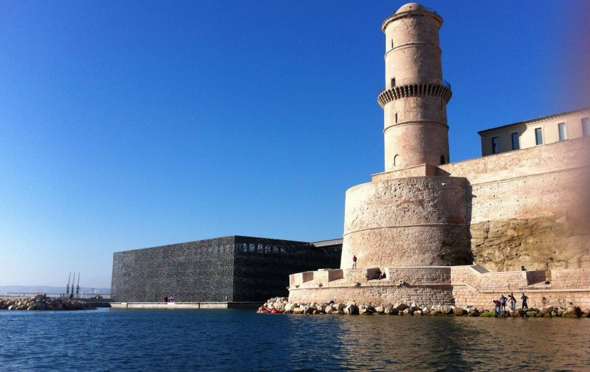 Location de vacances - Mas à Marseille - Fort Saint-Jean et MUCEM, Marseille.