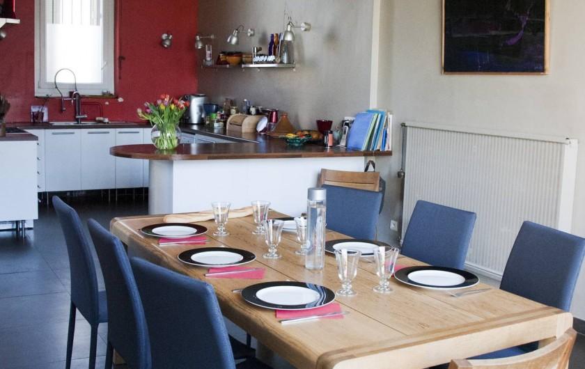Location de vacances - Mas à Marseille - Séjour & cuisine