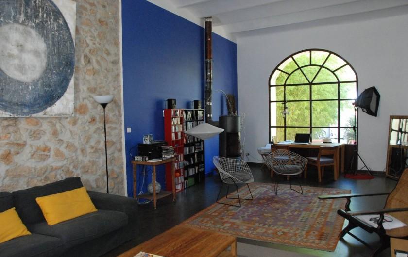 Location de vacances - Mas à Marseille - Salon