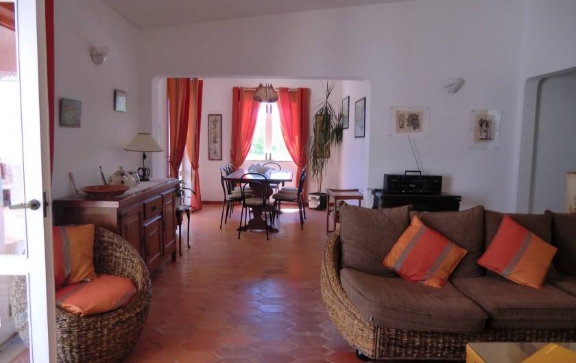 Location de vacances - Chalet à Luz - Séjour - Salle à manger