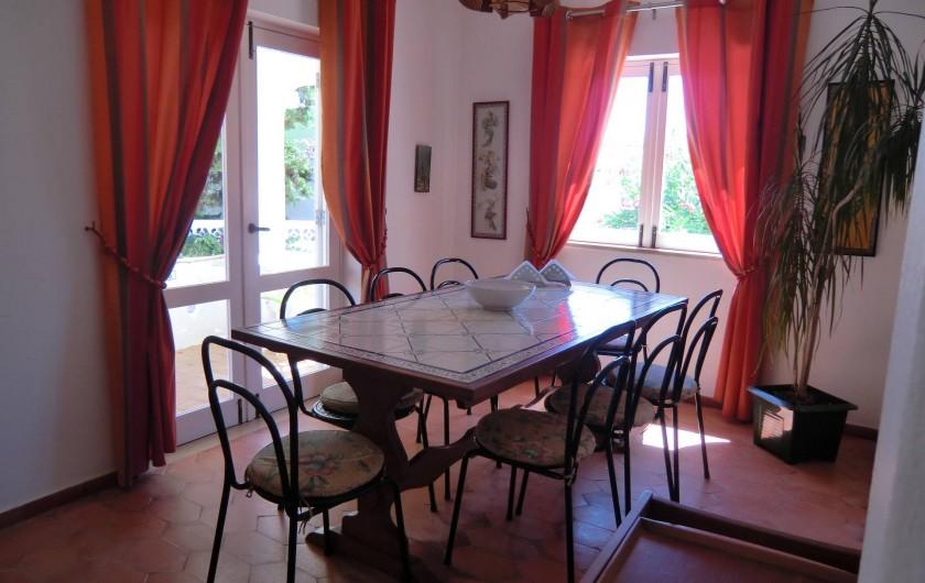 Location de vacances - Chalet à Luz - Salle à manger