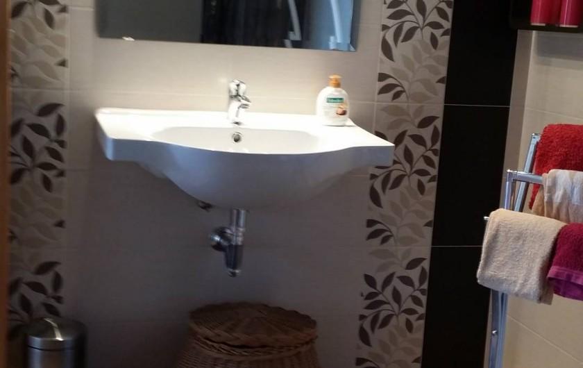 Location de vacances - Chalet à Luz - Salle de bains parentale