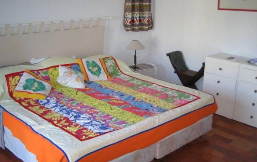 Location de vacances - Chalet à Luz - Chambre parentale