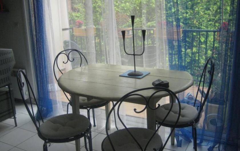 Location de vacances - Appartement à Collioure - Coin Salle à manger