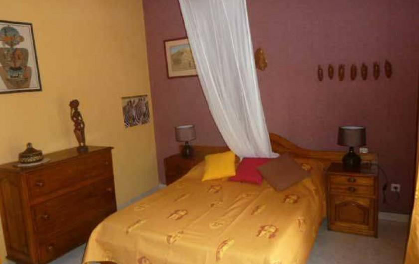 Location de vacances - Villa à Saly - Chambre 1