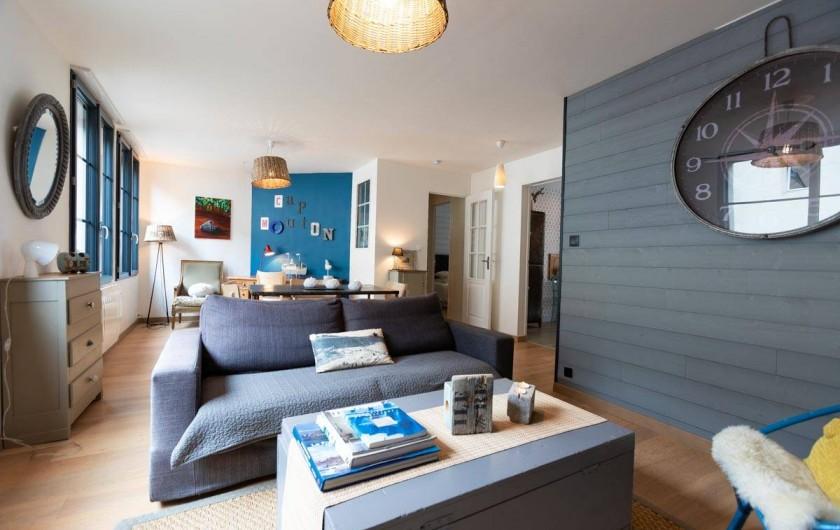 Location de vacances - Appartement à Binic - location tout confort et lumineuse - Cap Mouton - Les Maisons de Victoire