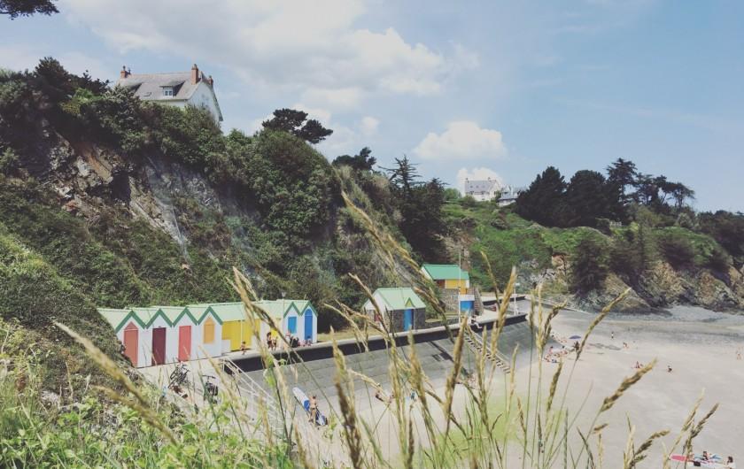 Location de vacances - Appartement à Binic - Les plages et le sentier des douaniers à pied ! La plus proche est à 200 m