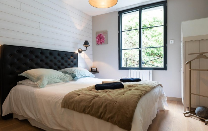 Location de vacances - Appartement à Binic - Literie confortable en 160cm- Les Maisons de Victoire à Binic