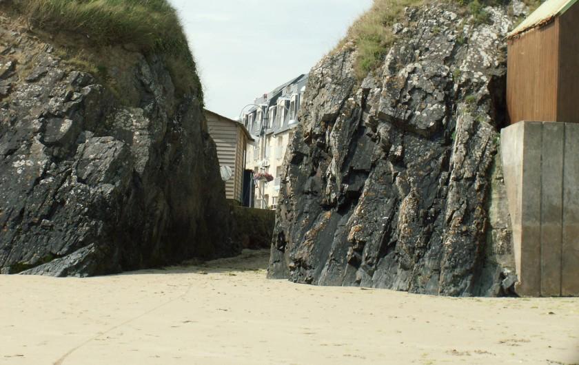Location de vacances - Appartement à Binic - Vue de la résidence de la plage